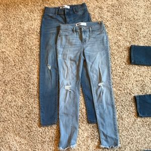Old Navy jeggings distressed size 12